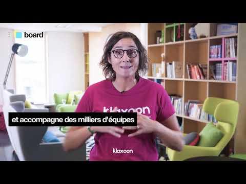 Klaxoon Board : la solution pour un travail en équipe efficace !