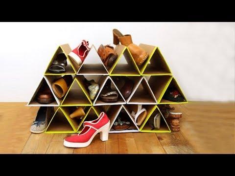 23 Идеи Оригинальных Полок Для Обуви Которые Можно Сделать Своими Руками
