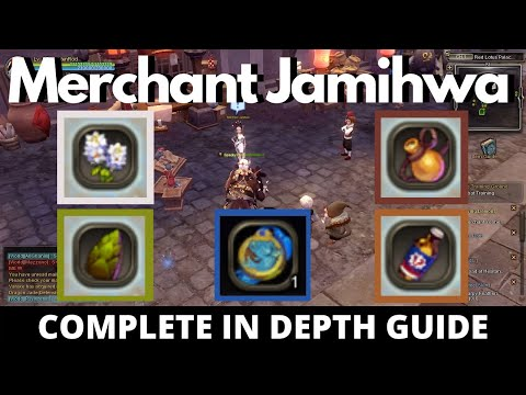 How to unlock Merchant Jamihwa's  Daily Task (All Item Locations) + Tips | Dragon Nest SEA 2020 [HD]