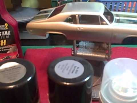 Tip Vid On How To Paint Your Plastic Model Cars Wmv