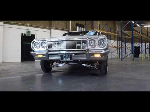 Car Audio Security   Pav's 64 Impala   LowRider   GoPro Karma