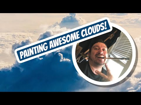 How to Paint Clouds In Oil [Art Lesson]