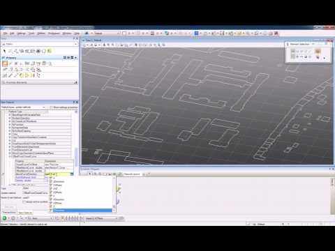 Generative Components: element sensor city model