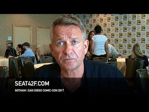 Sean Pertwee GOTHAM Interview Comic Con HD