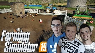"""Farming Simulator 19 """"od Zera do Farmera"""" #4  ✔ Kurnik, Karcher złodziej & Siew poplonu"""