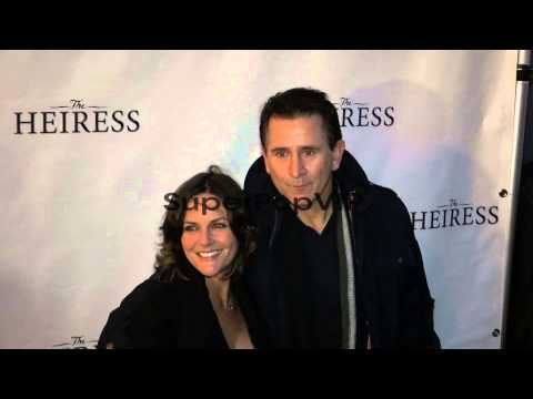 Anthony LaPaglia and Gia Carides at the play  of T...
