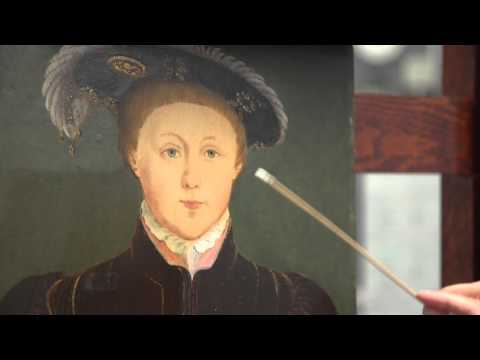Edward VI: First steps of the conservation treatment