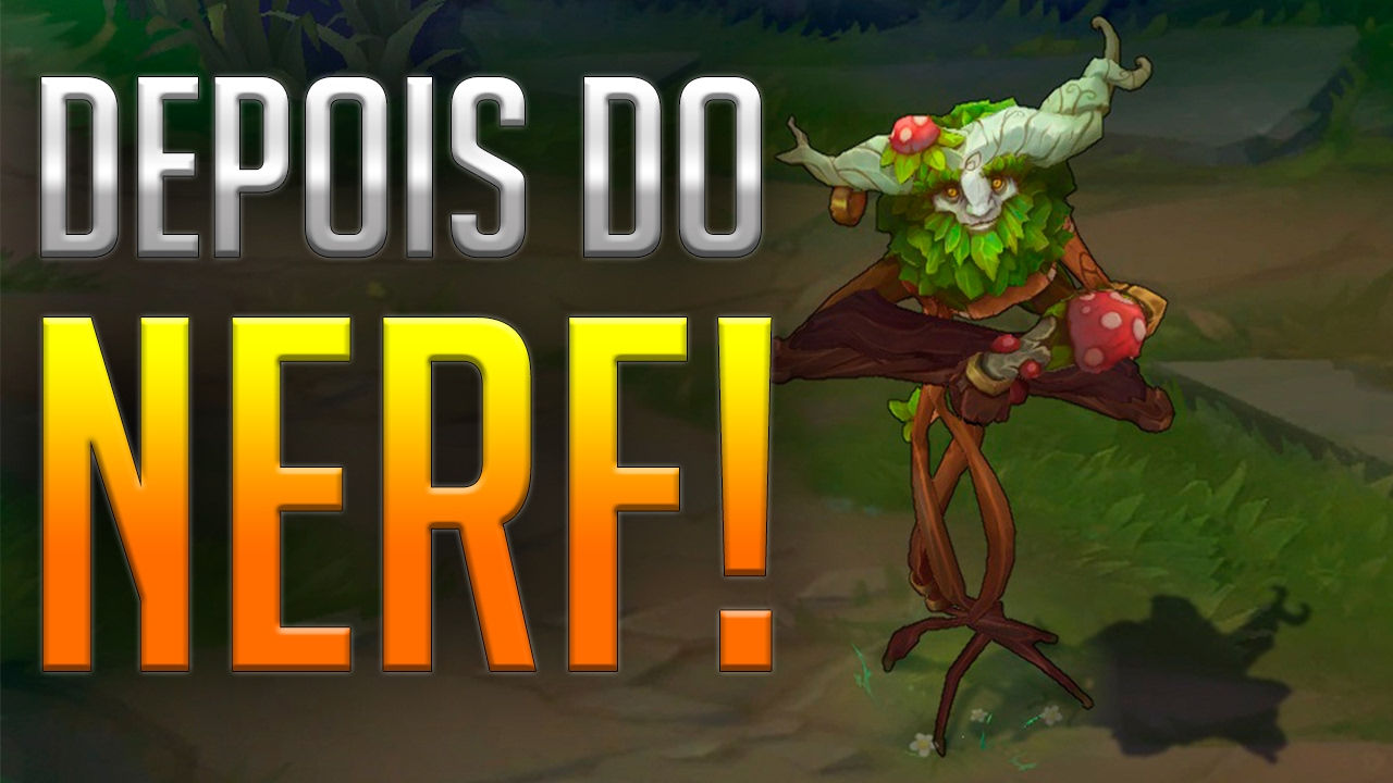 best service 9cea7 5ee35 IVERN - COMO FICOU DEPOIS DO NERF  DEPOIS DO NERF PATCH 7.3  01 ‹ Ken  Harusame ›