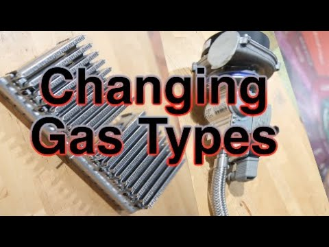 Changing Gas Types on your Coffee Roaster