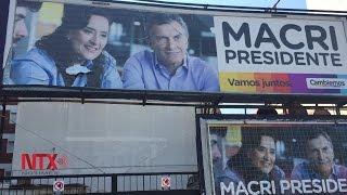 Elecciones de Argentina dejan como resultado un segunda vuelta