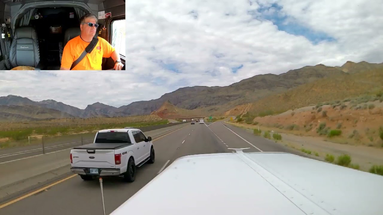 #530 Jake Brakes and The Virgin River Gorge The Life of an Owner Operator Flatbed Truck Driver