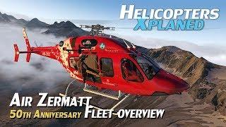 Video Air Zermatt Fleet Overview [X-Plane] download MP3, 3GP, MP4, WEBM, AVI, FLV Oktober 2018
