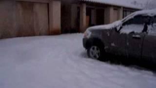 Yucca Valley Snow Storm 2009