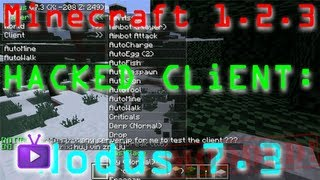 Minecraft - 1.2.3 Hacked Client - Nodus 7.3 + Download, ft. WiZARD HAX - WAY➚