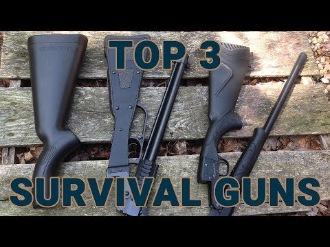 The Top Three Survival Guns For Your Bugout Bag