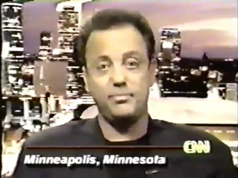 Billy Joel  Larry King Live   Billy in Minneapolis announces F2F Tour! 1993