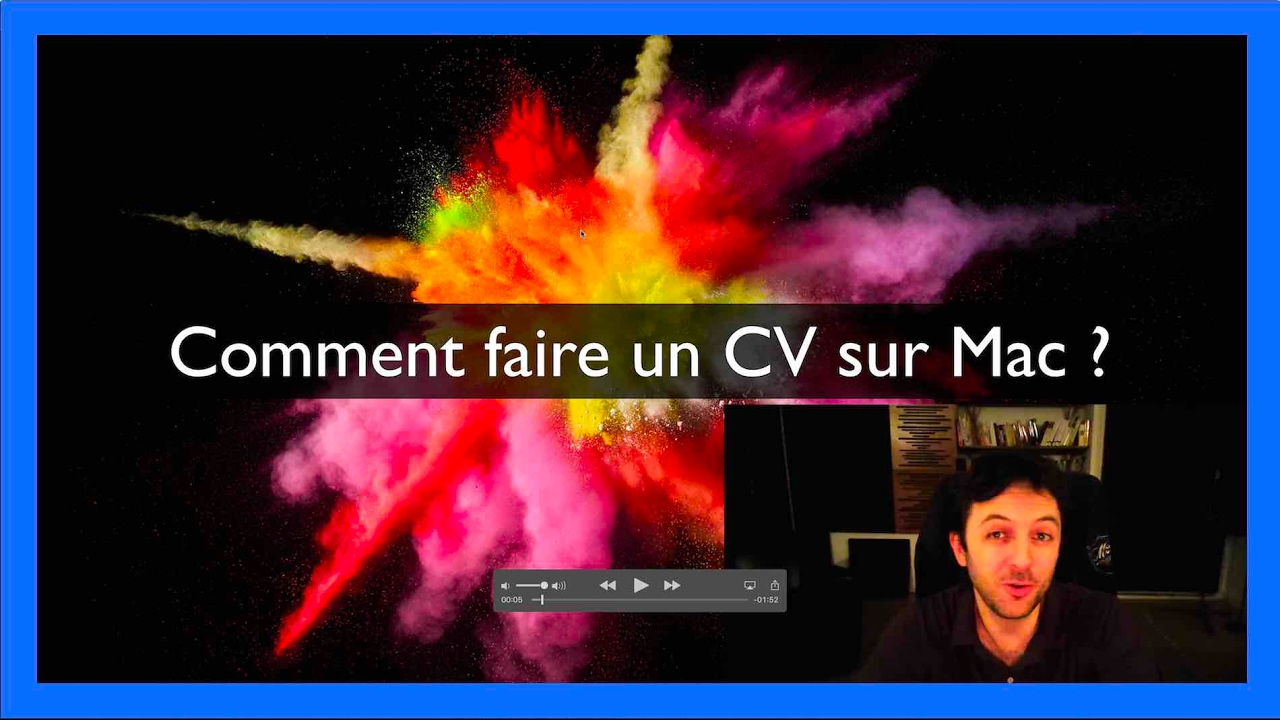 Comment faire un CV sur Mac ?   YouTube