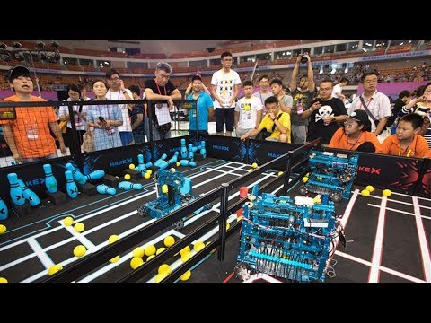 RoboCom finals take place in central China's Hubei Province