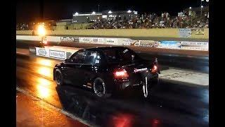 World Record Mitsubishi EVO -- 7.884 @298.71 Km/h (185.54mph) by Extreme Tuners