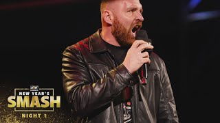 Jon Moxley is Back, Listen to What He Had to Say | AEW New Year's Smash Night 1, 1/6/21