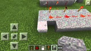 Minecraft pe şifreli kapı yapımı