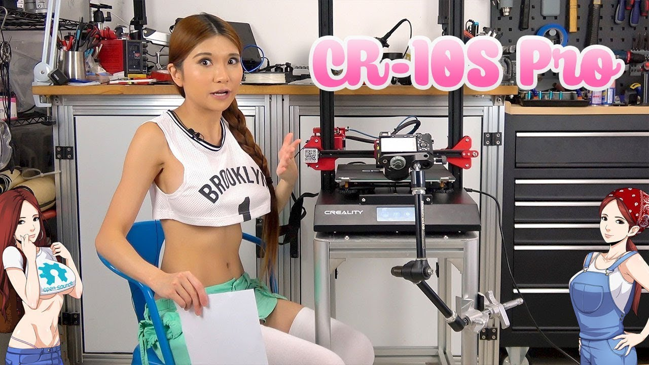 CR-10S Pro 3D Printer Unboxing and Review