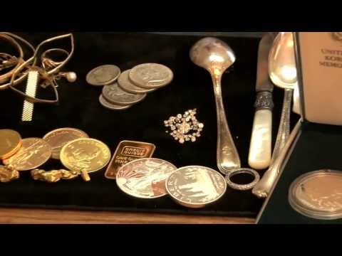 PRE SORTING JEWELRY MIKE'S WE BUY GOLD & SILVER  732-768-1197