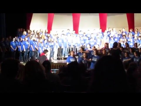 The Phantom Of The Opera Theme performed by Marana High and Marana Middle