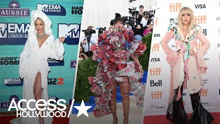 The Most Outrageous Red Carpet Looks Of 2017 | Access Hollywood