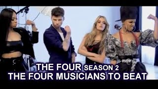 The Four Musicians To Beat or Challenge The Four Season 2 Promo