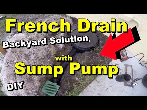 French Drain With Sump Pump Where To Install And Why Diy