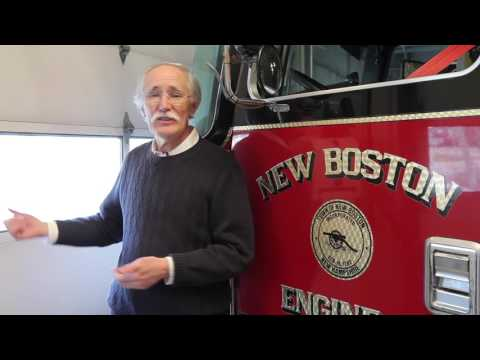 New Boston Fire Department - Tour of the Station