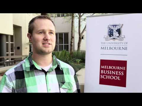 Why Melbourne Business School? Nathan Bell
