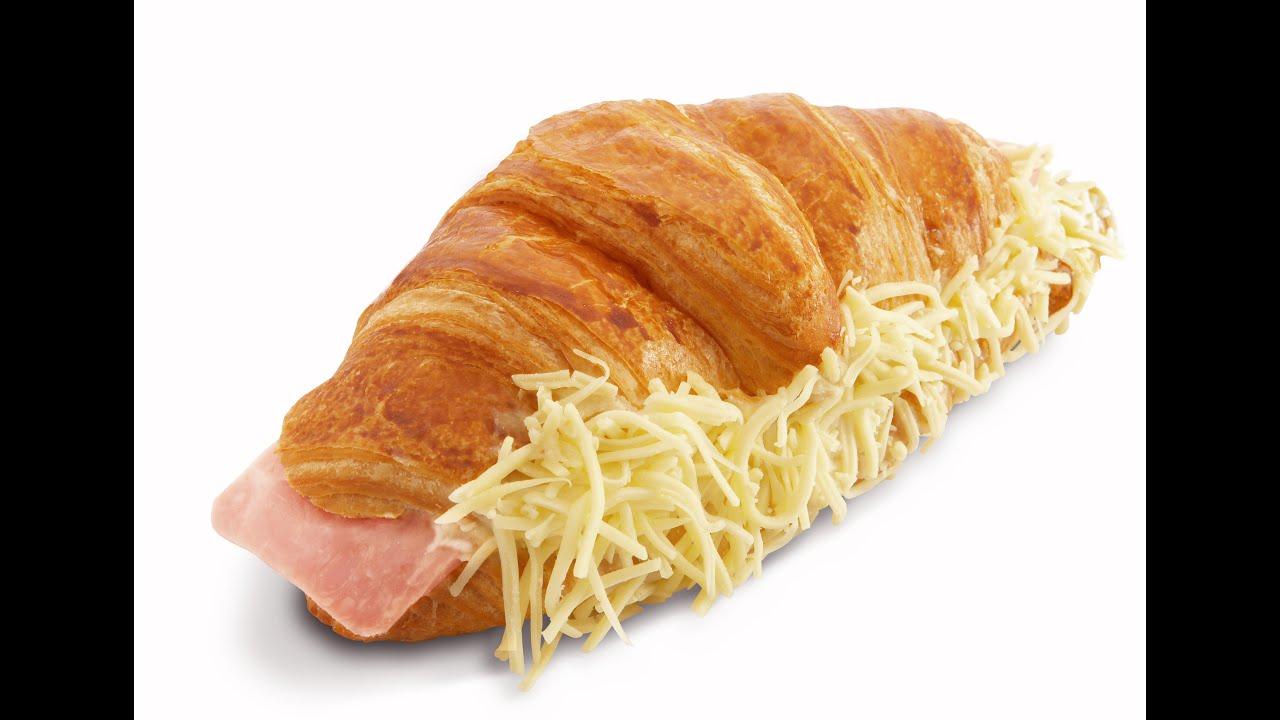 Croissant au jambon facile youtube for French cuisine 3 modules
