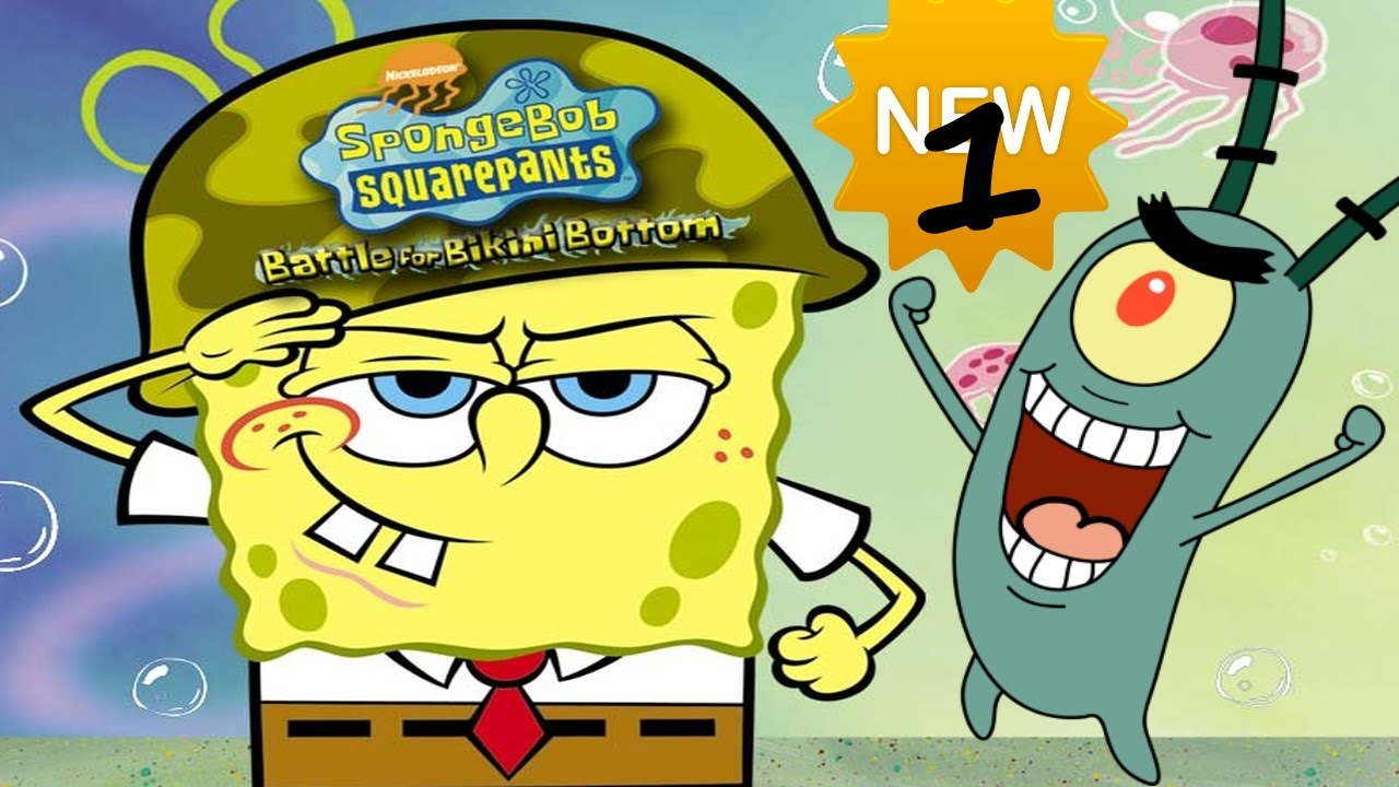 Spongebob bikini bottom walk thru