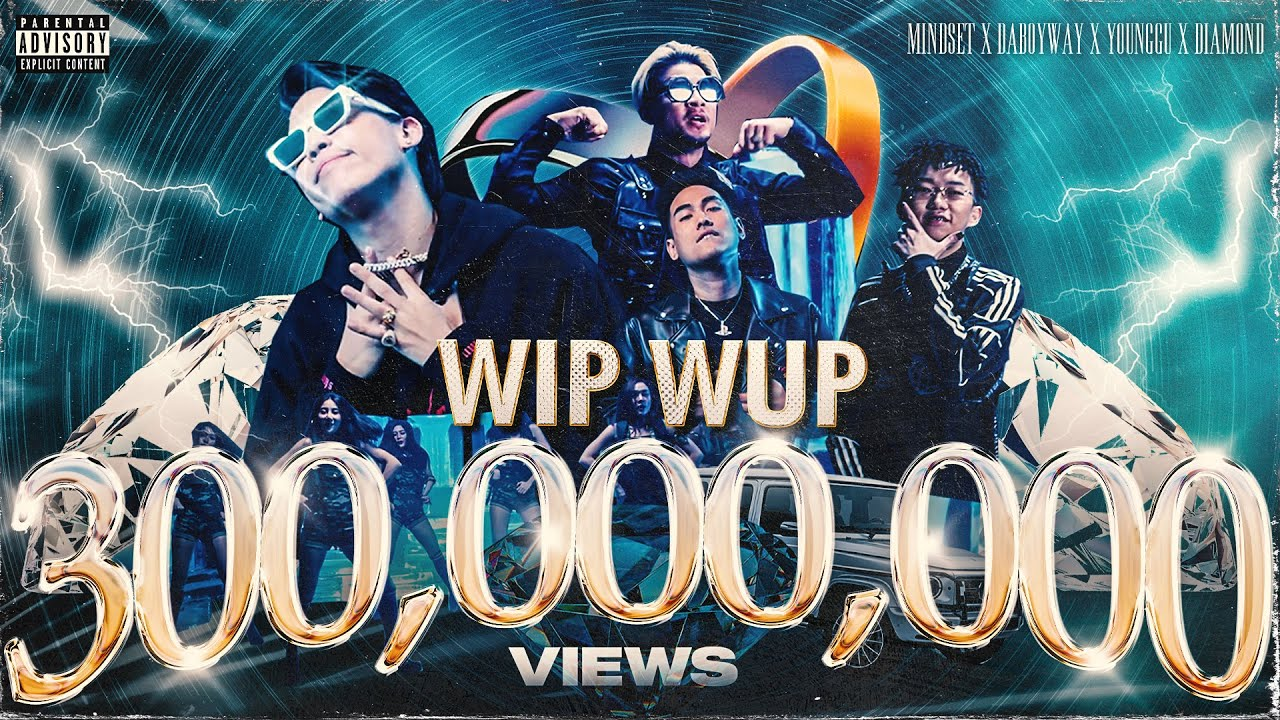WIP WUP (วิบวับ) - Mindset x Daboyway x Younggu x Diamond [Official MV]