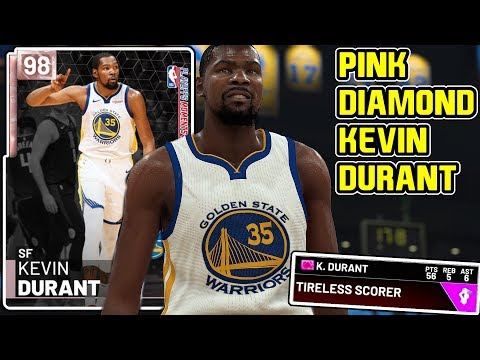 d8251ba2e234  NEW  PINK DIAMOND KEVIN DURANT GAMEPLAY! IS HE WORTH THE UPGRADE  NBA