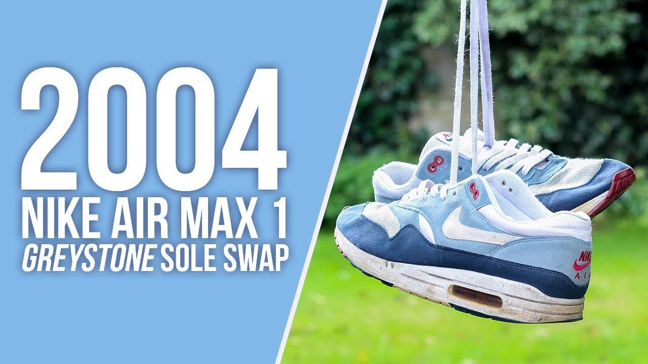 Nike Air Max 1 Greystone ▷ Promotion et meilleur prix 2019