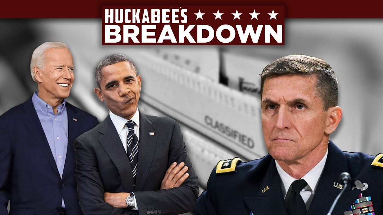 BREAKDOWN: It Gets WORSE! The CIA Was In On Flynn & Obama/Biden May Get Off Scot-free | Huckabee