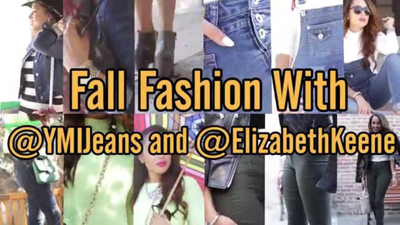 Back To School Lookbook: Fall Fashion With YMI Jeans | Elizabeth Keene
