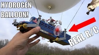 REAL Fortnite RC Battlebus!!!