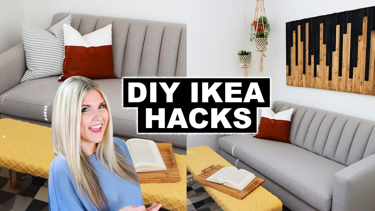 DIY IKEA HACKS - DIY HOME DECOR - IKEA FURNITURE HACKS LIZ FENWICK DIY