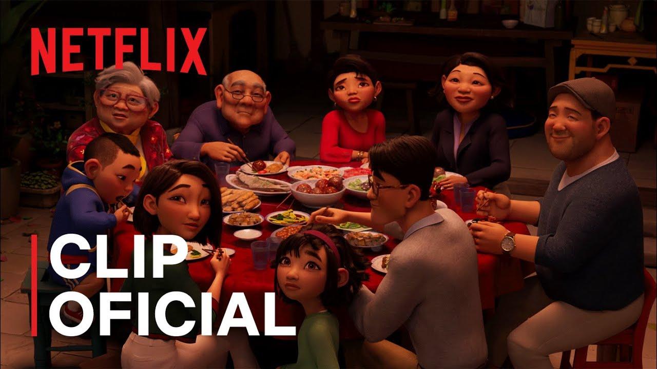 Más allá de la Luna | Cena familiar | Netflix