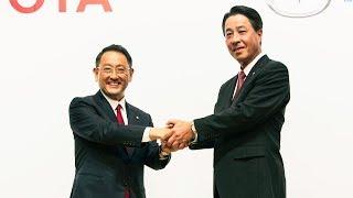 マツダとトヨタ、業務資本提携に関する共同記者発表会 thumbnail