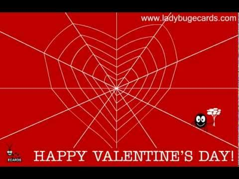 Cool Free Cute Valentines Day Spider Love Animated Greeting Ecard – Animated Valentines Day Cards Free