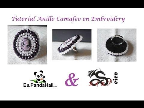 Tutorial Cabuchon en Embroidery es.PandaHall.com