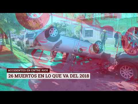 Informe especial: accidentes viales en ER