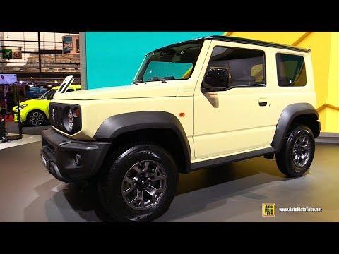 2019 Suzuki Jimny - Exterior and Interior Walkaround - Debut at 2018 Paris Motor Show