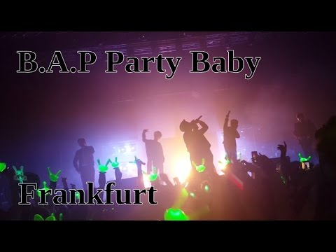 B.A.P Party Baby World Tour, Frankfurt 2017 + Dancing to One shot & Young, wild & free