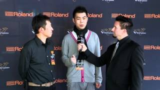#15 Bing Nan Liu Interview; V-Drums World Championship 2012